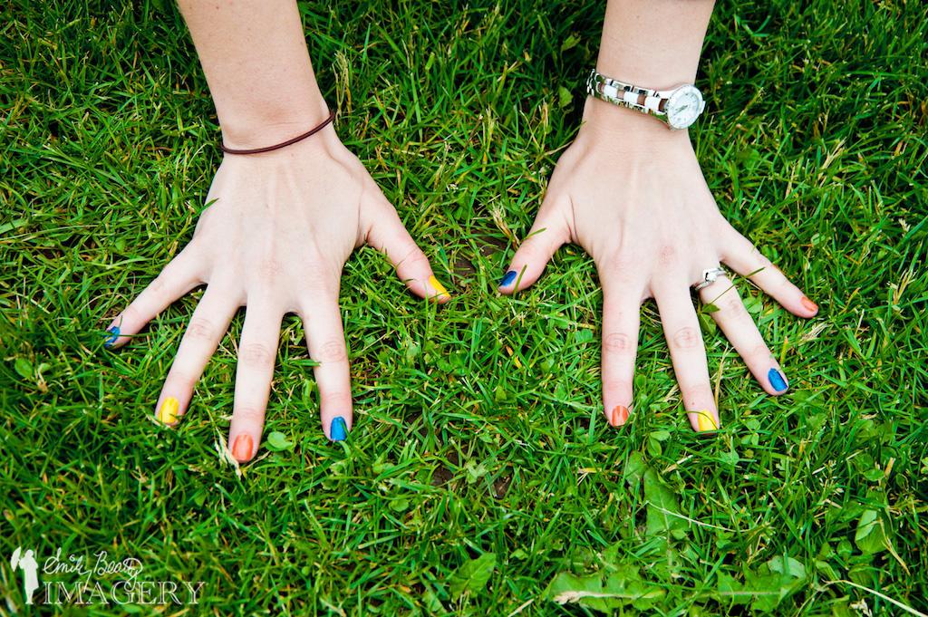 Canadian Cancer Society nail polish.