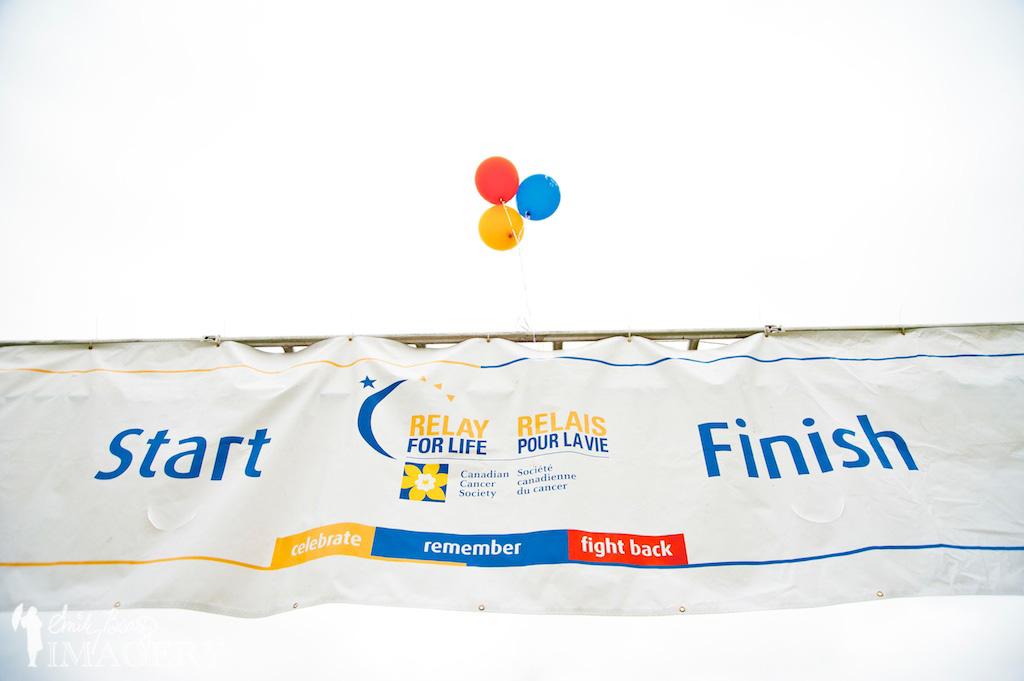 start line finish line relay for life