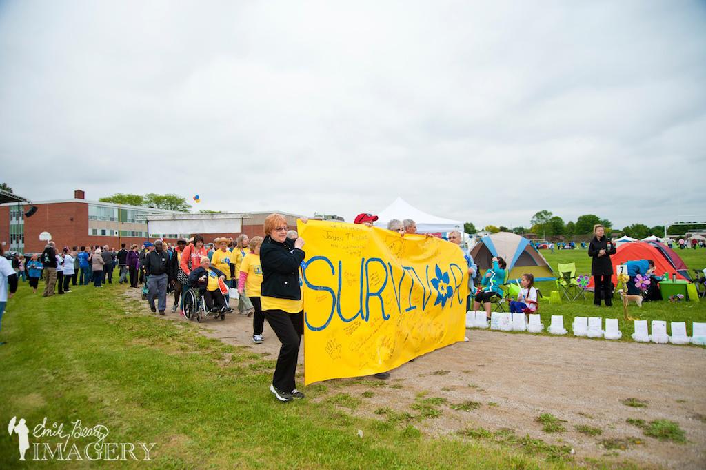 Survivors lead the way.