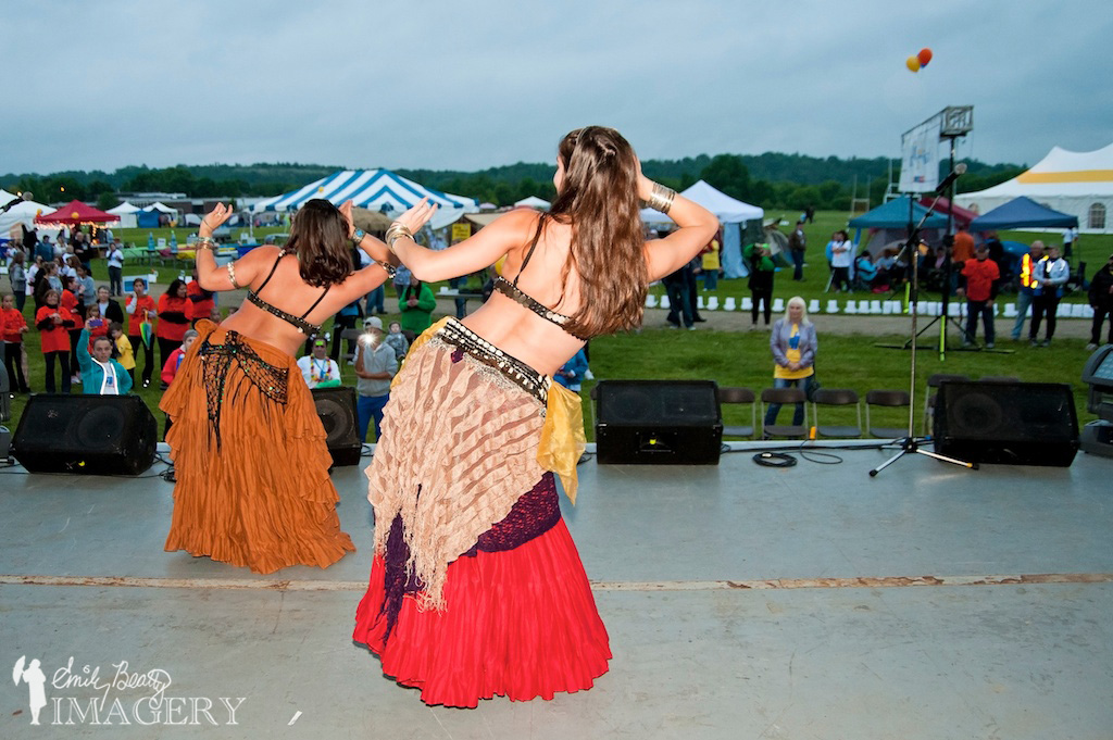 Belly dancers at Relay For Life