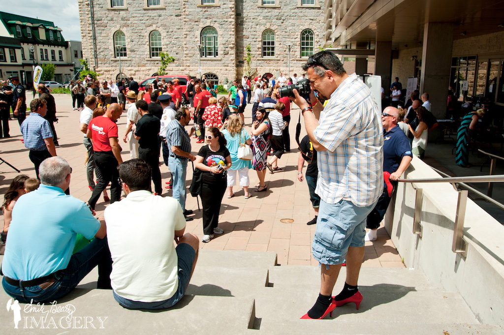 Jelly Triangle at Walk A Mile In Her Shoes 2013