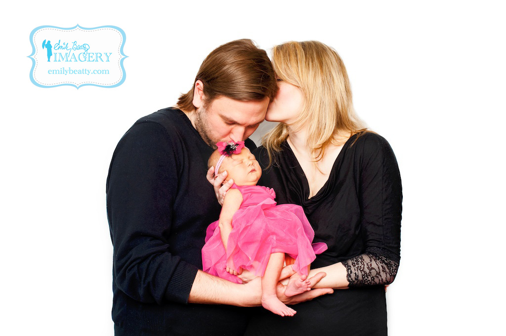New parents with baby girl.