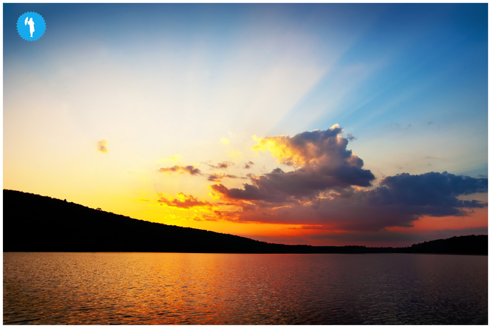 Sunset in Algonquin Park photography by Emily Beatty Imagery 2013.