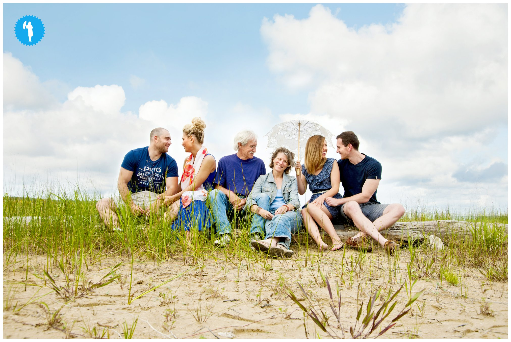 Family portraits Sauble Beach Emily Beatty