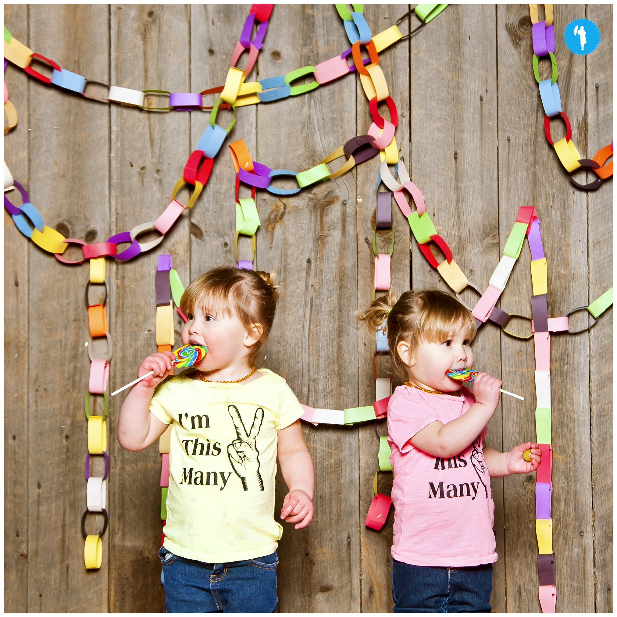 Twins turn 2 portraits by Emily Beatty Imagery.