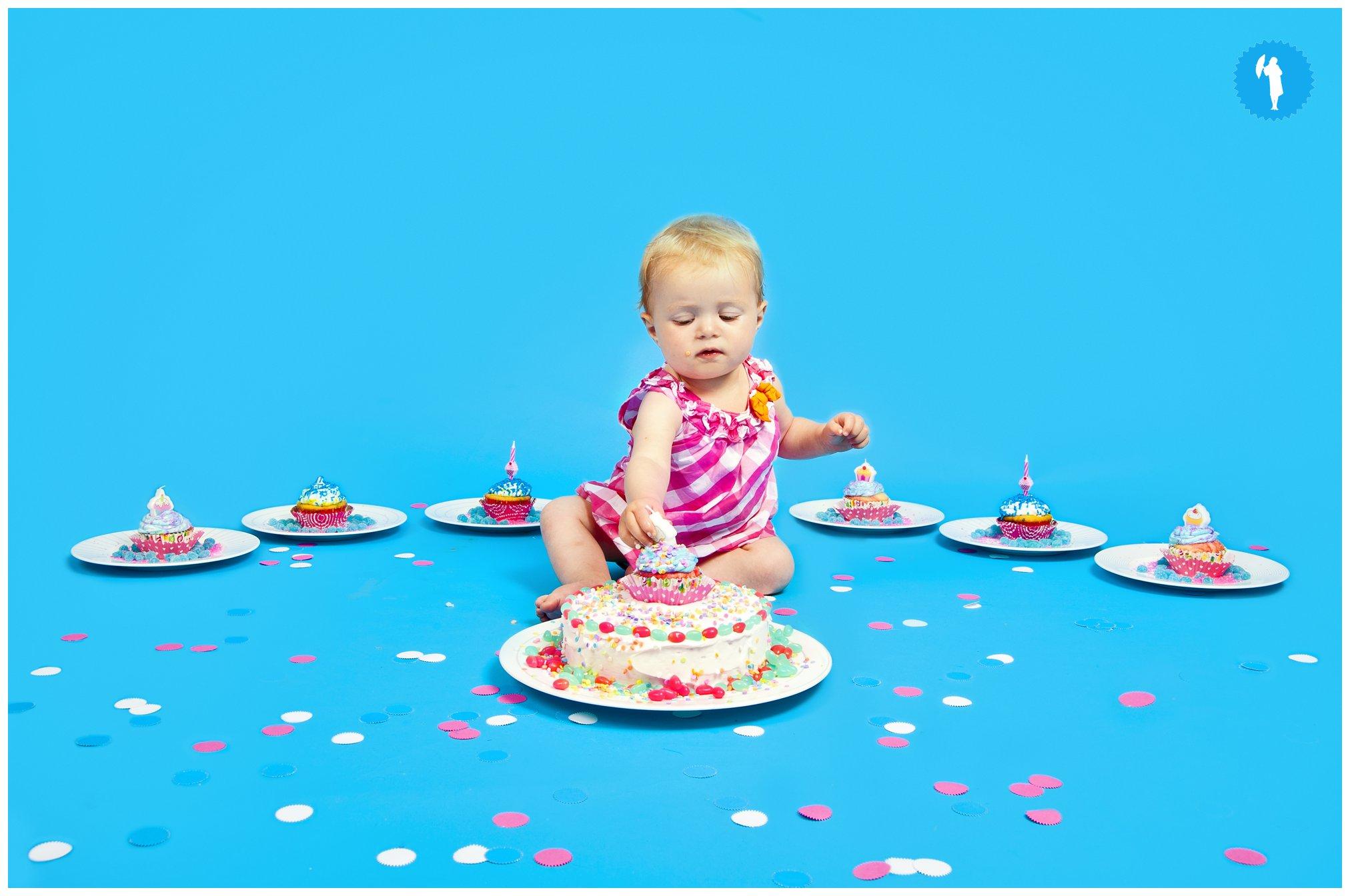 Cake smash Kitchener photographer.