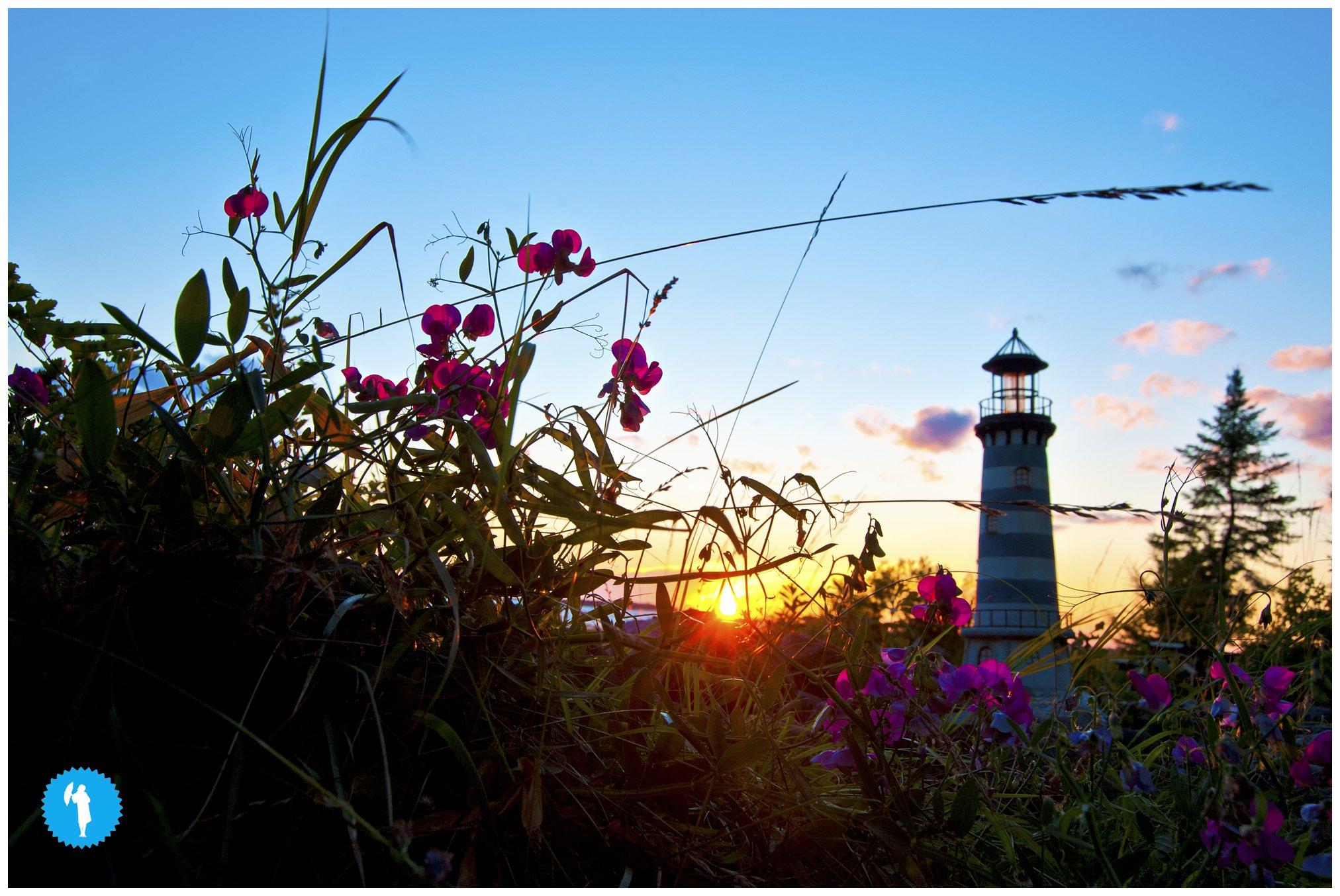 Oliphant Lighthouse by Emily Beatty, 2013.