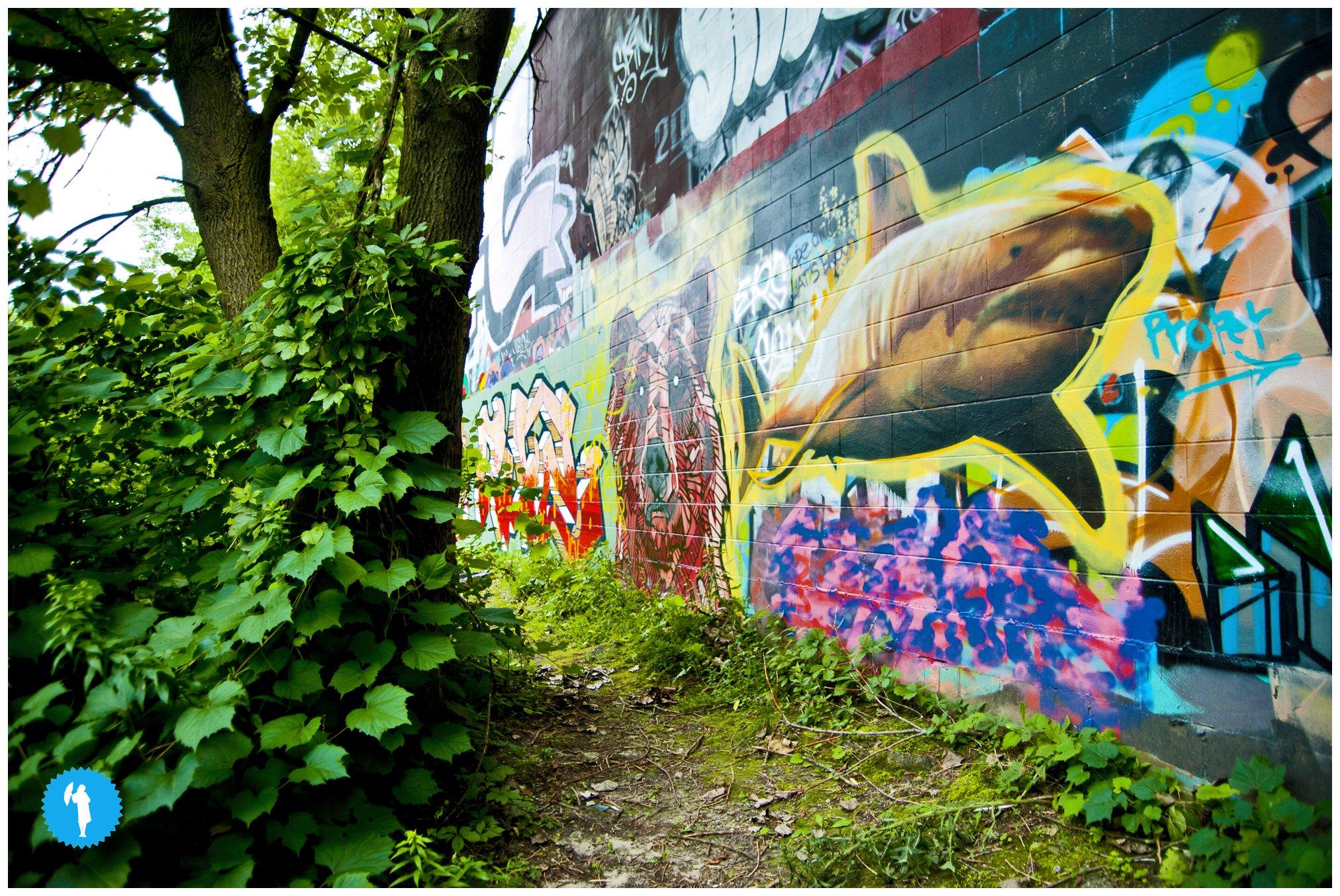 Kitchener graffiti by Emily Beatty.