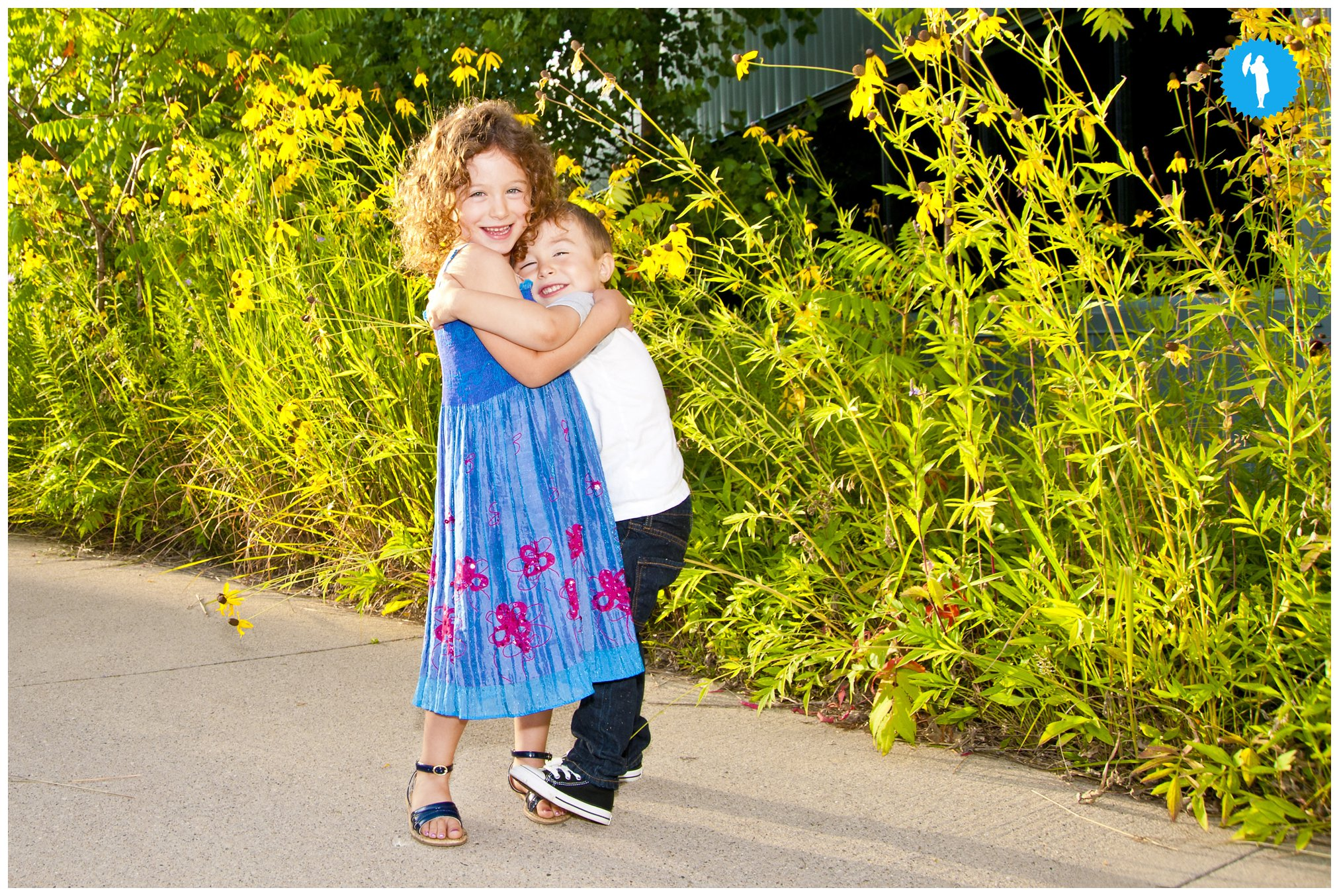Family portraits in Kitchener by Emily Beatty.