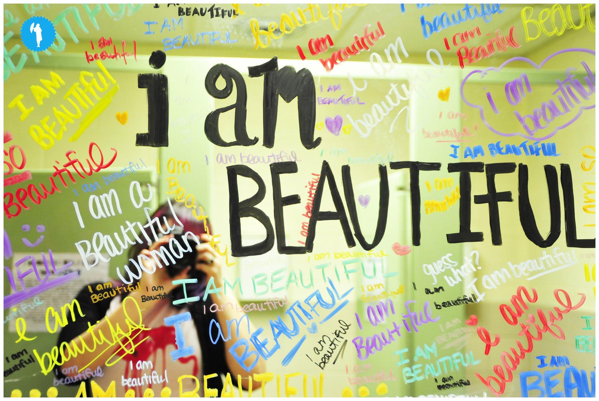 I am Beautiful photo by Emily Beatty Imagery, 2013.