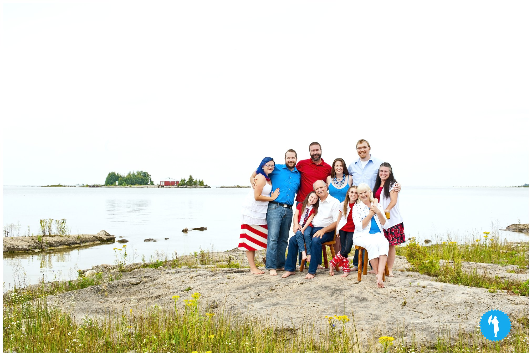 Family portraits by Emily Beatty Imagery of Kitchener Ontario. Taken in Oliphant, 2013.