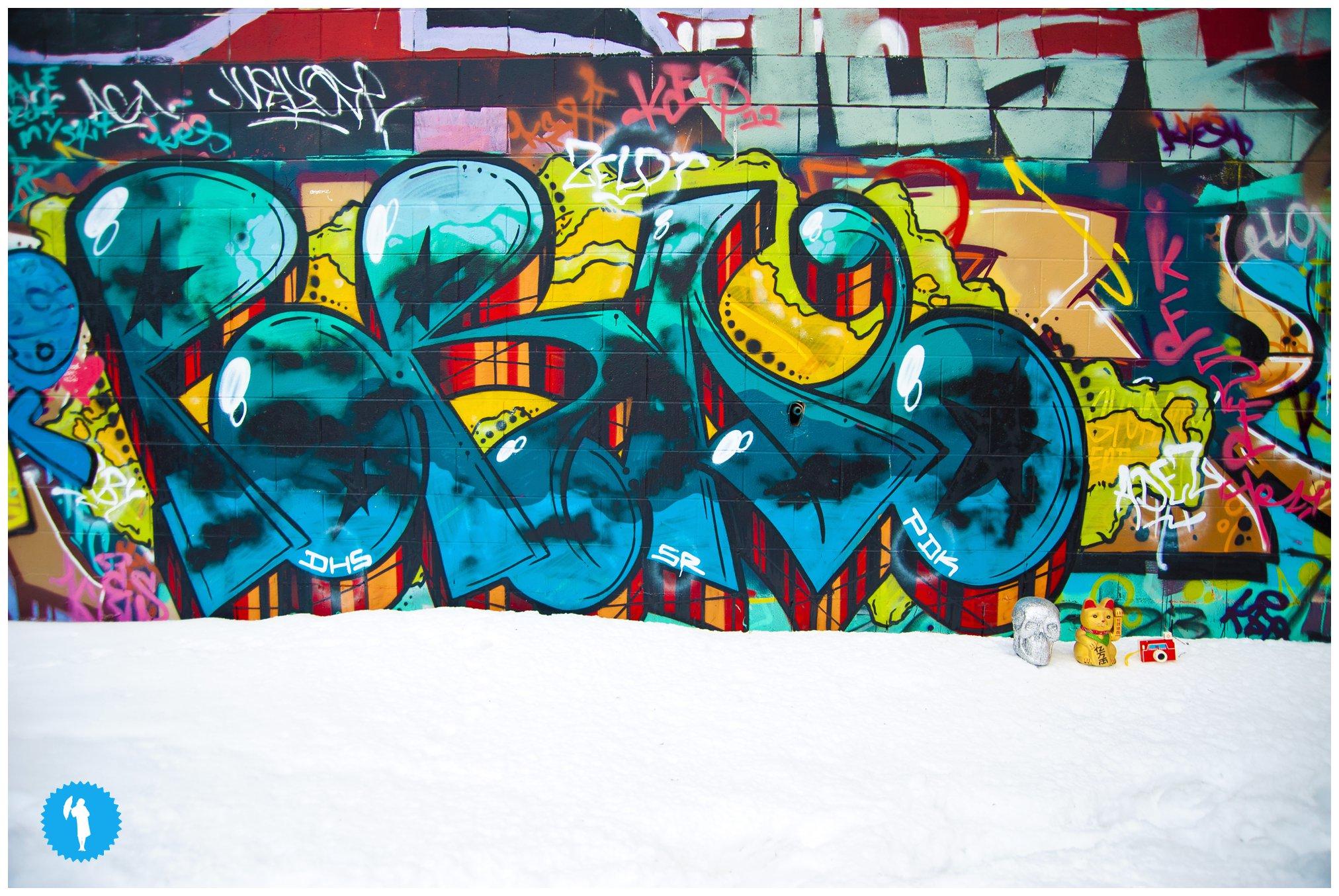 Emily Beatty Imagery graffiti.