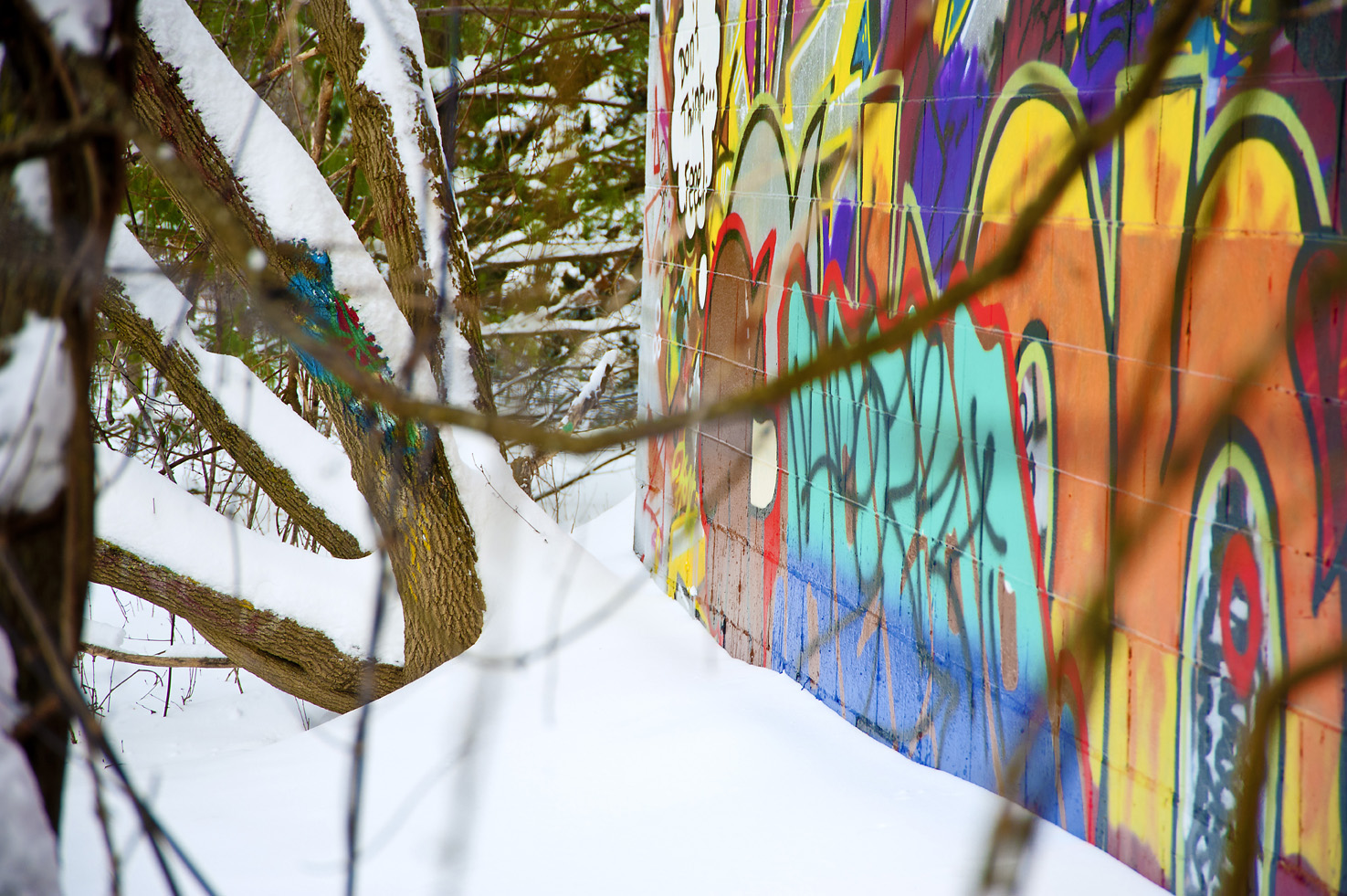 graffiti photography Kitchener