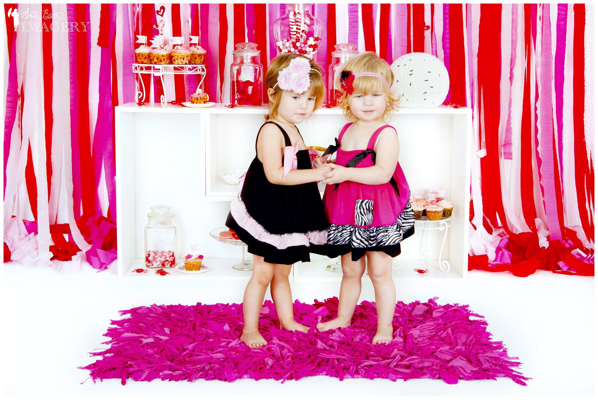 twins Valentine's Day