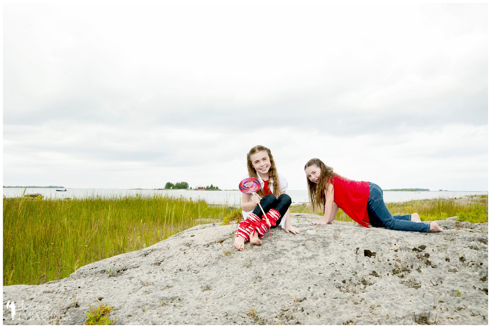 family photos in Bruce Peninsula