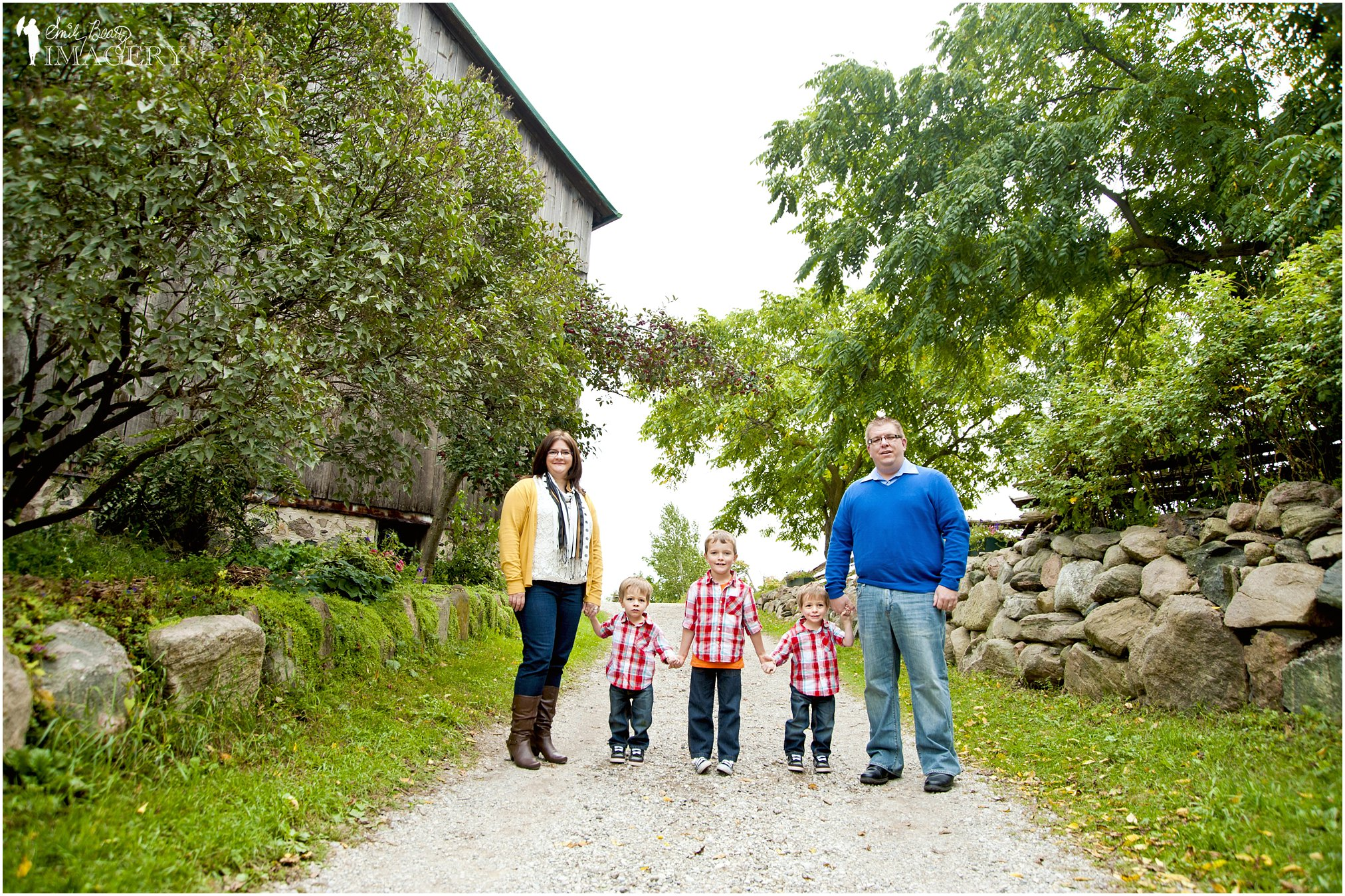 family portraits at Steckle Farm